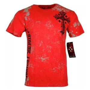 Xtreme Couture by AFFLICTION Mens T-Shirt UPRISING